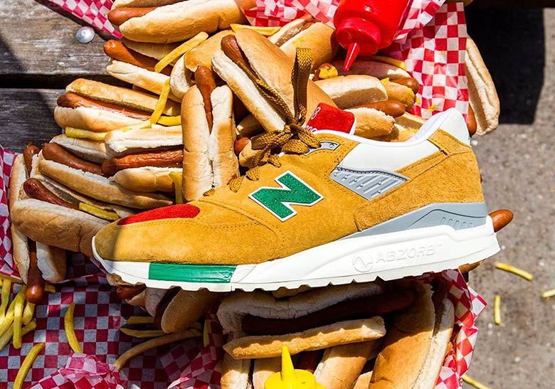 J.Crew And New Balance To Drop A 998 Inspired By Hot Dog Condiments b7bf73fff2