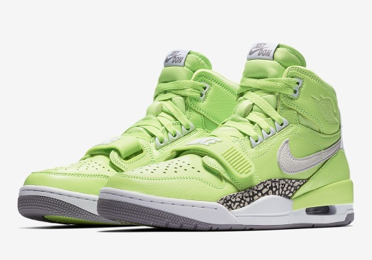 Official Images Of Don C's Jordan Legacy 312 In Ghost Green