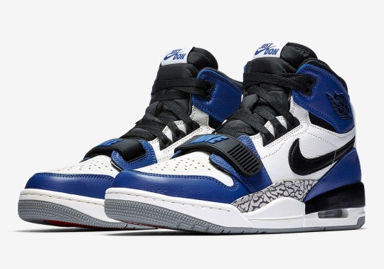 "Jordan Legacy 312 To Debut In ""Storm Blue"" Colorway"