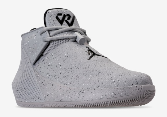 "Russell Westbrook's New Jordan Low-Top Signature Shoe Is Coming In ""Light Smoke"""