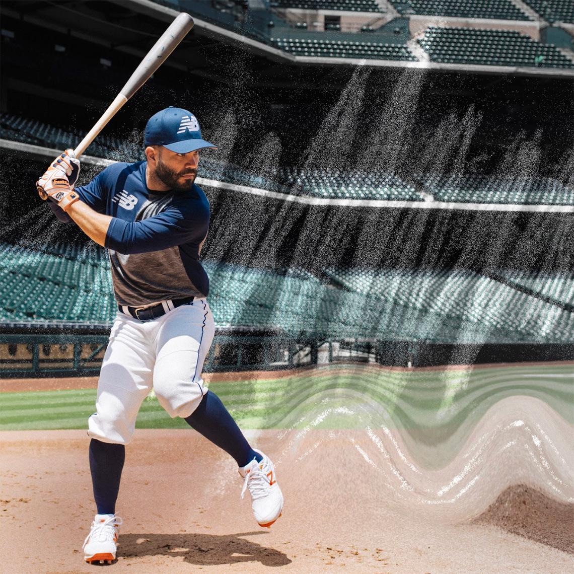 Jose Altuve New Balance 3000v4 Baseball Cleat  637dbbf1c