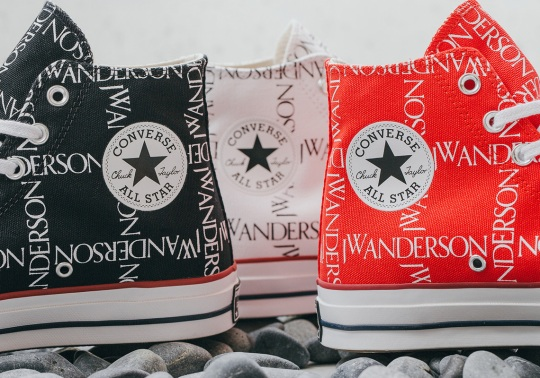 The JW Anderson x Converse Chuck 70 High Is Back In Three Colorways