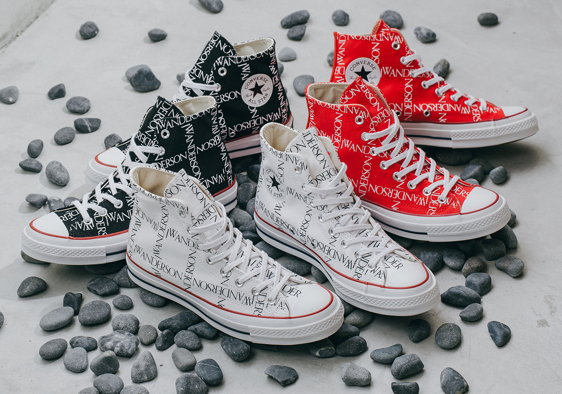 5bf9ed0c310 JW Anderson Converse Chuck 70 High Grid Pack Available Now ...