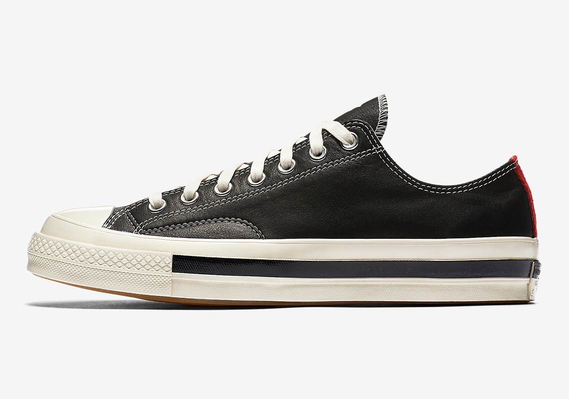 f548cd36f2b5 Converse x Kasina Chuck 70 Low AVAILABLE AT Nike  120. Color  Black Red