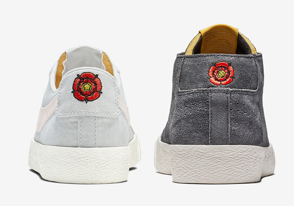 "Lance Mountains Nike Blazer ""English Rose"" Pack Comes In Two Other Styles"