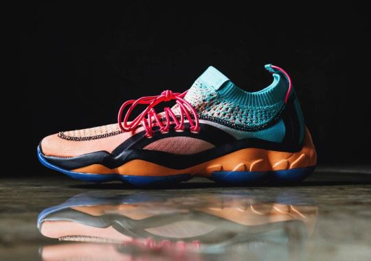 Reebok Joins Forces With Lust Mexico For Axolotl-Inspired DMX Fusion
