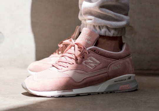 The New Balance 1500 Goes Full Pink Suede