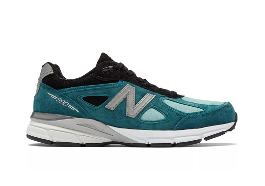 New Balance Adds Moroccan Blue To The 990v4