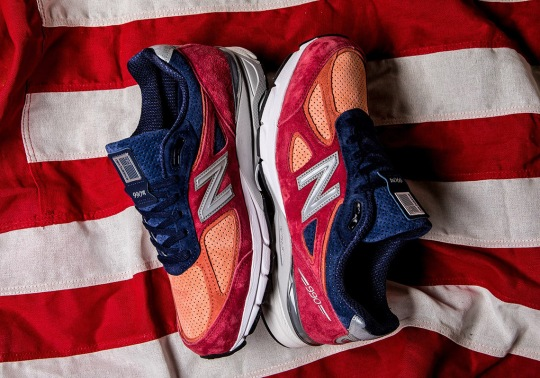 The New Balance 990v4 Goes Patriotic For Summer