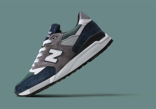 A Sea-Ready New Balance 998 Arrives In Teal And Navy