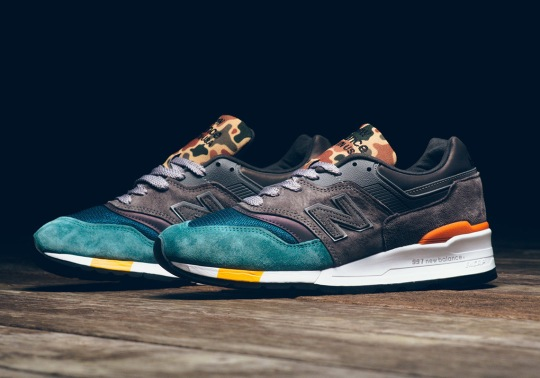 New Balance Adds Duck Camo Patterns To The 997