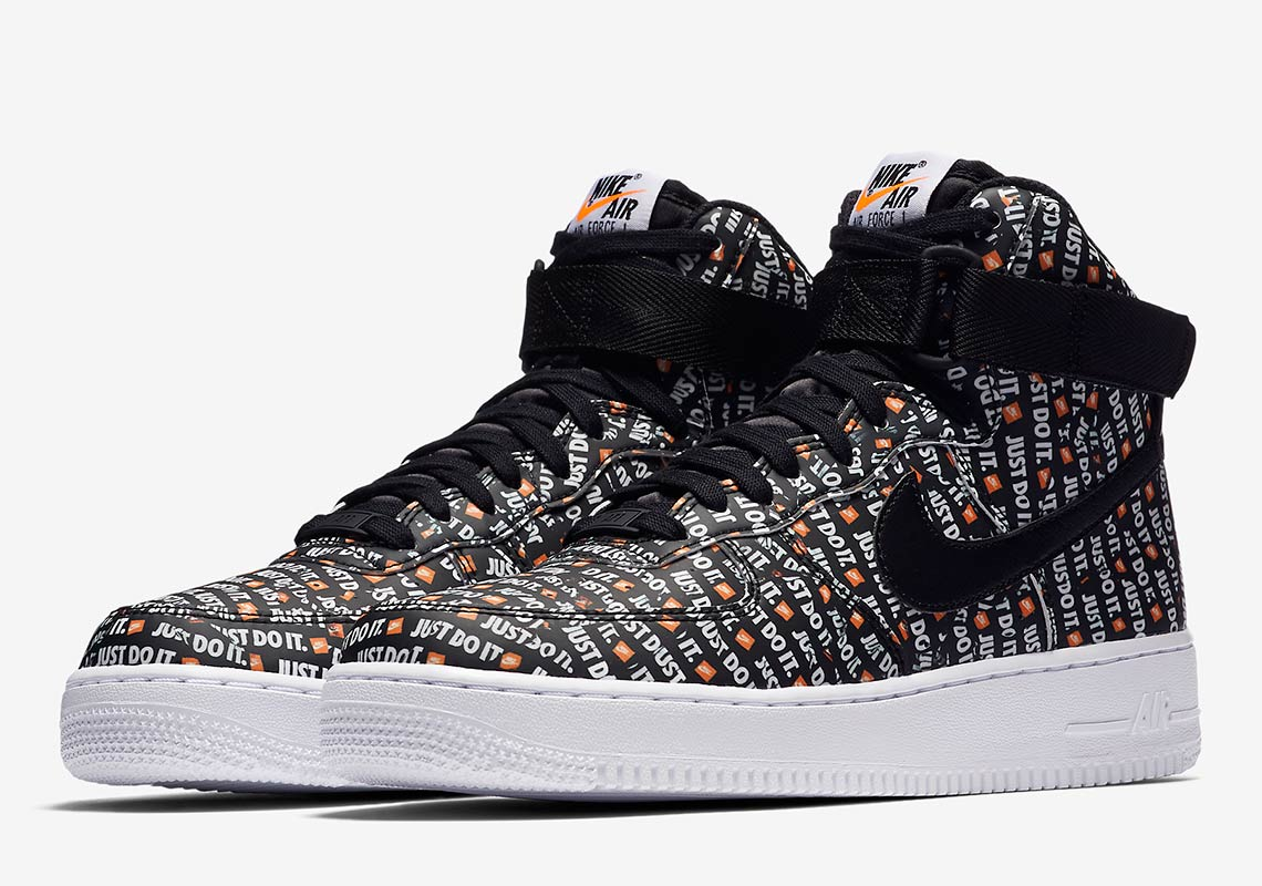 """a6370932105 Nike Air Force 1 High """"Just Do It"""" Release Date  August 2"""