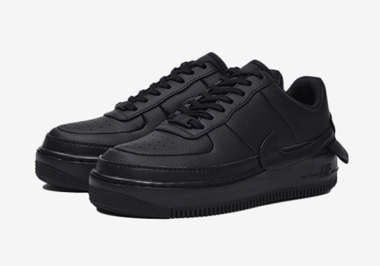 Triple Black Arrives On The Nike Air Force 1 Jester XX