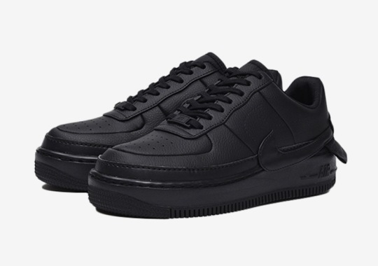 Triple Black Arrives On The Nike Air Force 1 Jester XX 1ab8ac1e2