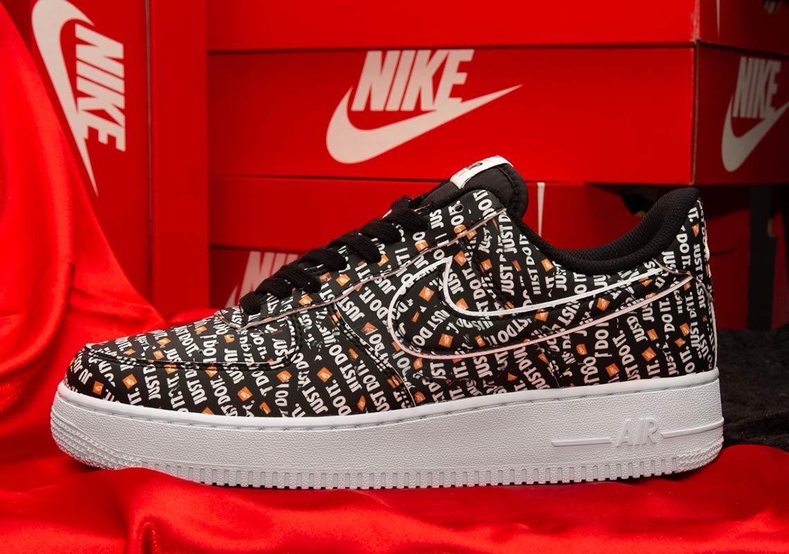 "052e25d97d4 Nike Air Force 1 Low ""Just Do It"" Release Date  August 2"