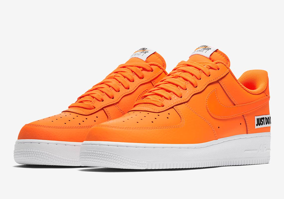 """new product 15d5d 665bb Nike Air Force 1 Low """"Just Do It"""" Release Date  August 2, 2018"""