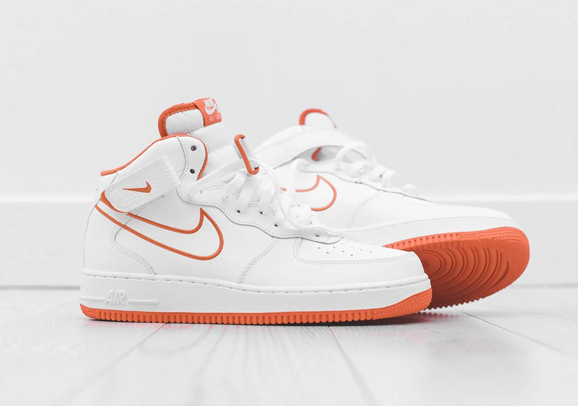 """newest e6609 09a1c Nike Air Force 1 Mid Fans Will Need This New """"Terra Orange"""" Colorway"""