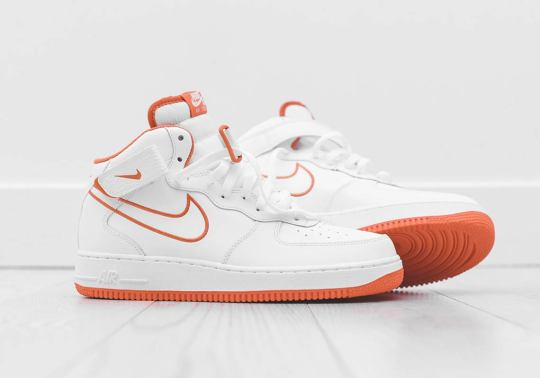 "Nike Air Force 1 Mid Fans Will Need This New ""Terra Orange"" Colorway"