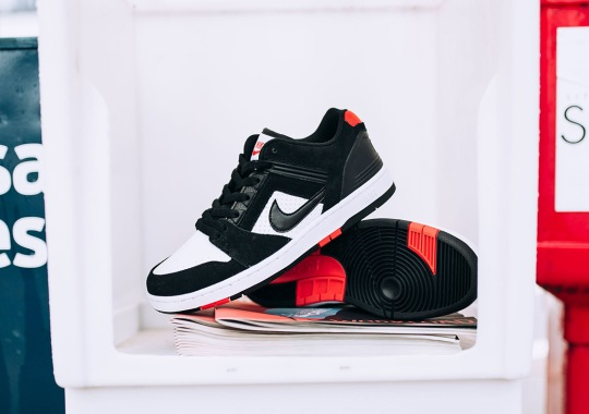 """Nike SB Air Force 2 Low Arrives In """"Bred"""" Colorway"""