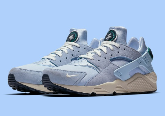 "The Nike Air Huarache Premium Is Available In ""Blue Tint"""