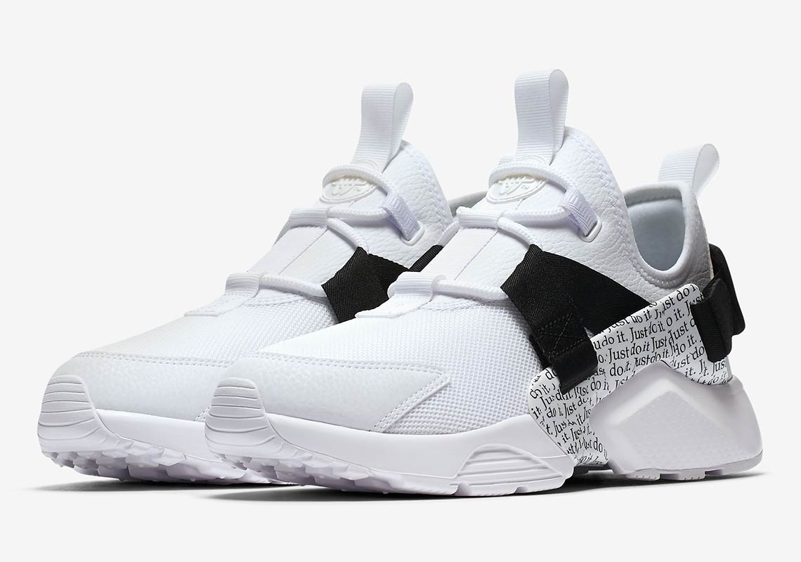 "f98f18e8aed2 Nike Huarache City Low ""Just Do It"" Release Date  August 2018  120. Style  Code  AO3140-100"