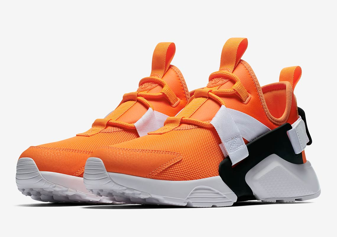 """05462e0c5752e Style Code  AO3140-800. Nike Huarache City Low """"Just Do It"""" Release Date   August 2018"""