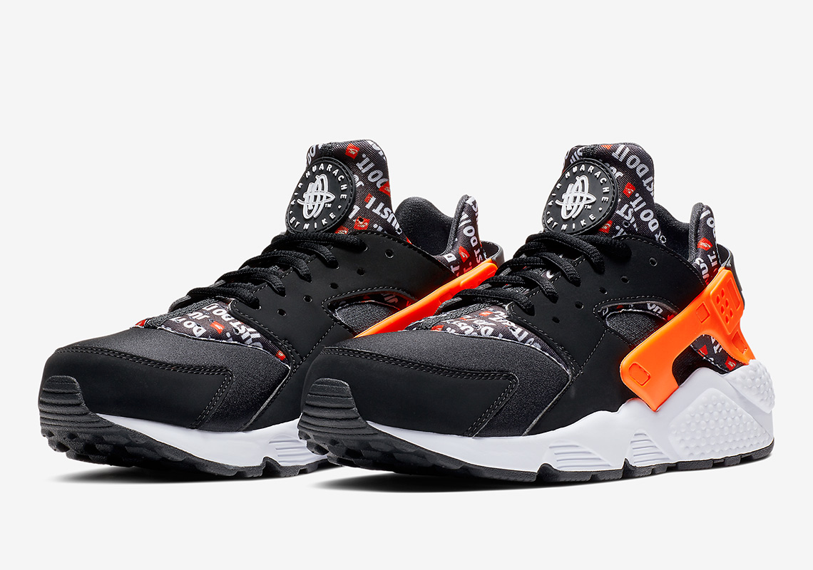 reputable site e511d e467e ... coupon code for nike air huarache available at foot locker 120. color  black total orange