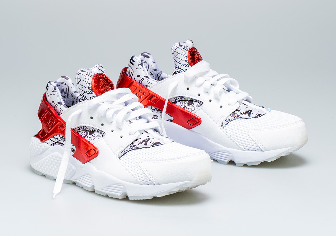 6212d3c7953c Shoe Palace Teams With Artist Joonbug For Nike Air Huarache QS  Collaboration. July 23