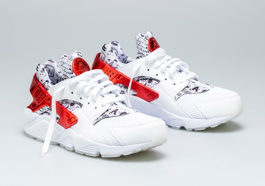 Shoe Palace Teams With Artist Joonbug For Nike Air Huarache QS Collaboration