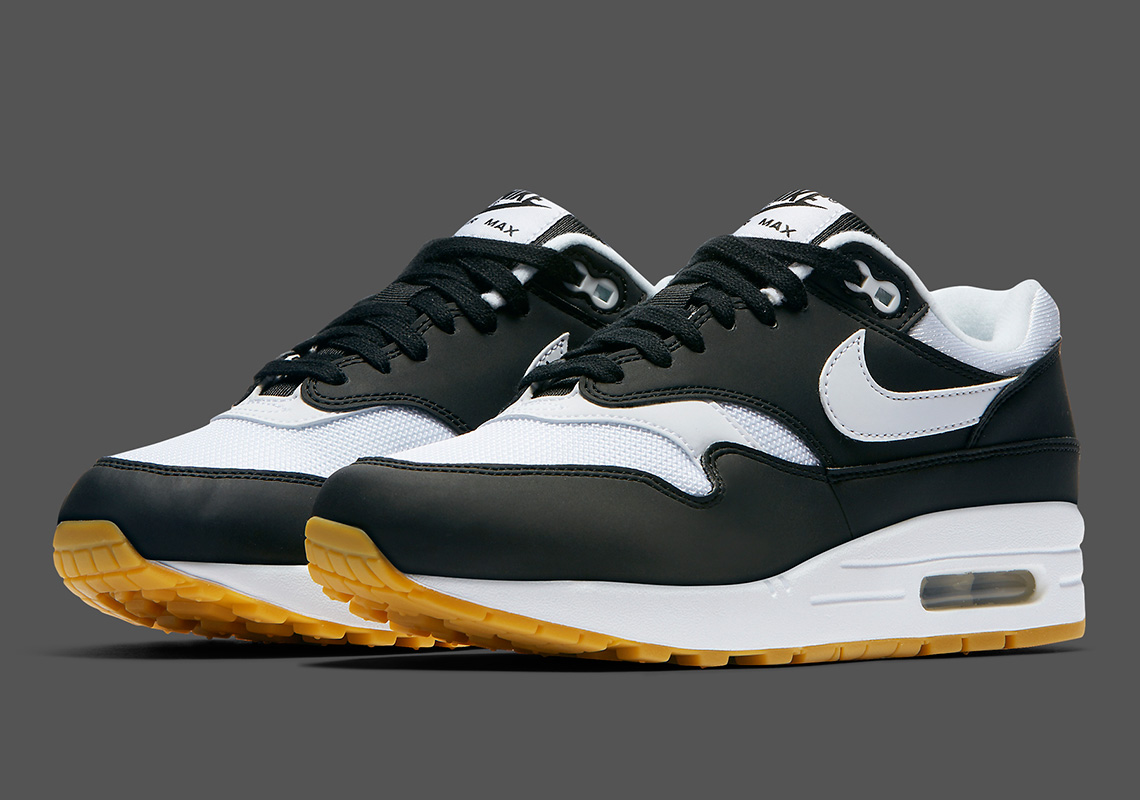 The Nike Air Max 1 Arrives In Classic Black And Gum