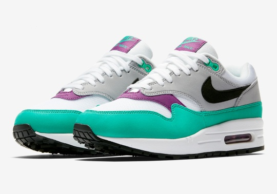 "Nike Air Max 1 ""Clear Emerald"" Is Coming This Month"