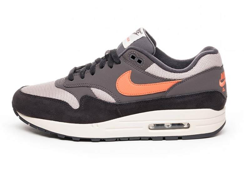Nike Air Max 1 GreyOrange AH8145 004 Available Now