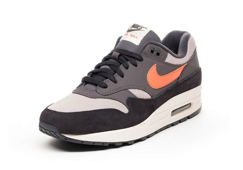 official photos 818fa 585cd Nike Air Max 1 Grey Orange AH8145-004 Available Now   SneakerNews.com