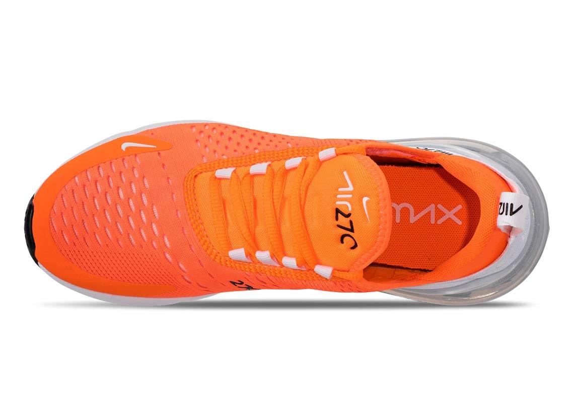 eba2177ada9b7 Nike Air Max 270 Total Orange AH6789-800 Release Info | SneakerNews.com