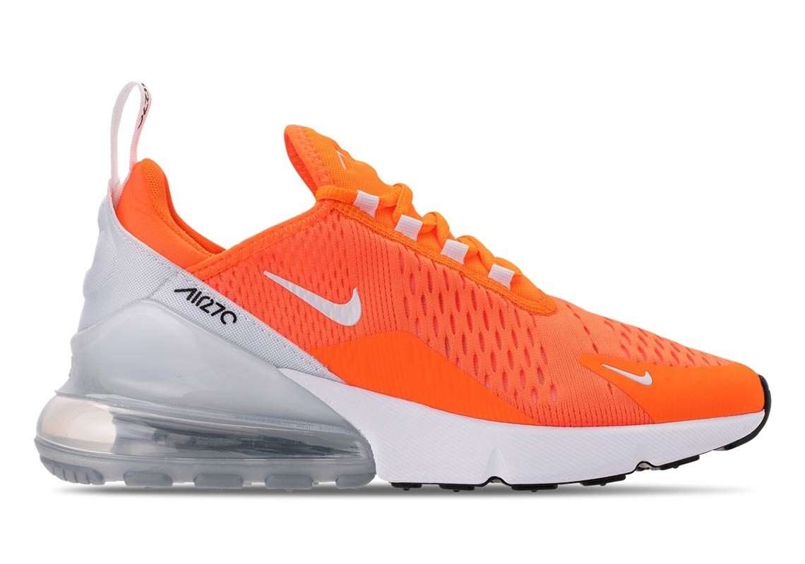 finest selection 40bd0 729df Nike Air Max 270 Total Orange AH6789-800 Release Info ...