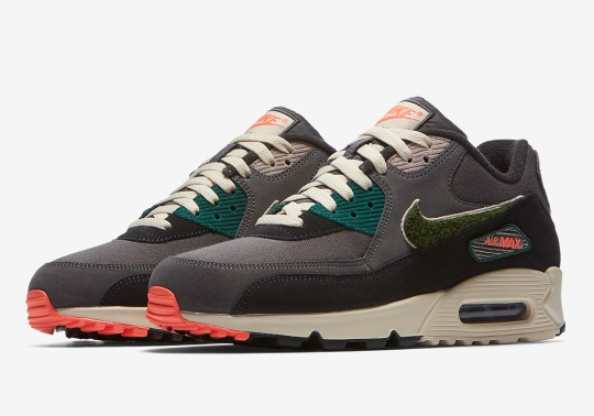 More Of Nike's Impressive Chenille Swoosh'ed Air Max 90s Are Coming Soon