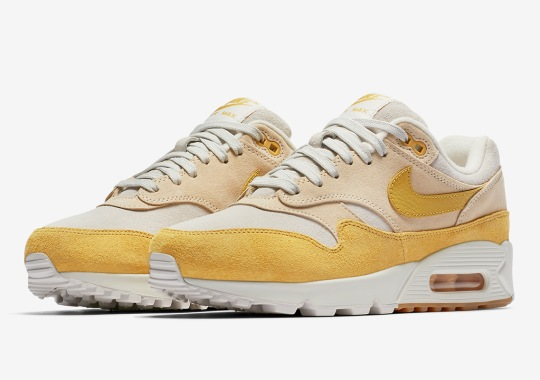 Nike Air Max 90/1 Is Releasing In Yellow For Women