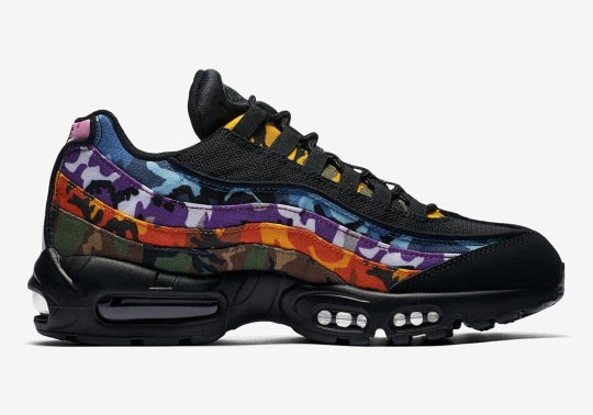 The Nike Air Max 95 In Multi-Colored Camo Is Releasing This Week