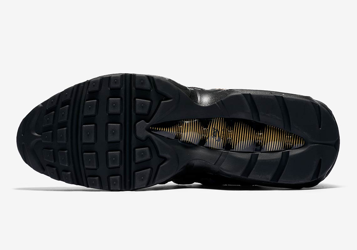 d38a0ab35b4 Color  Black Metallic Gold Cobalt Blaze Style Code  AT6142-001. Where to  Buy  Nike Air Max 95. Foot LockerAvailable Now  FootactionAvailable Now