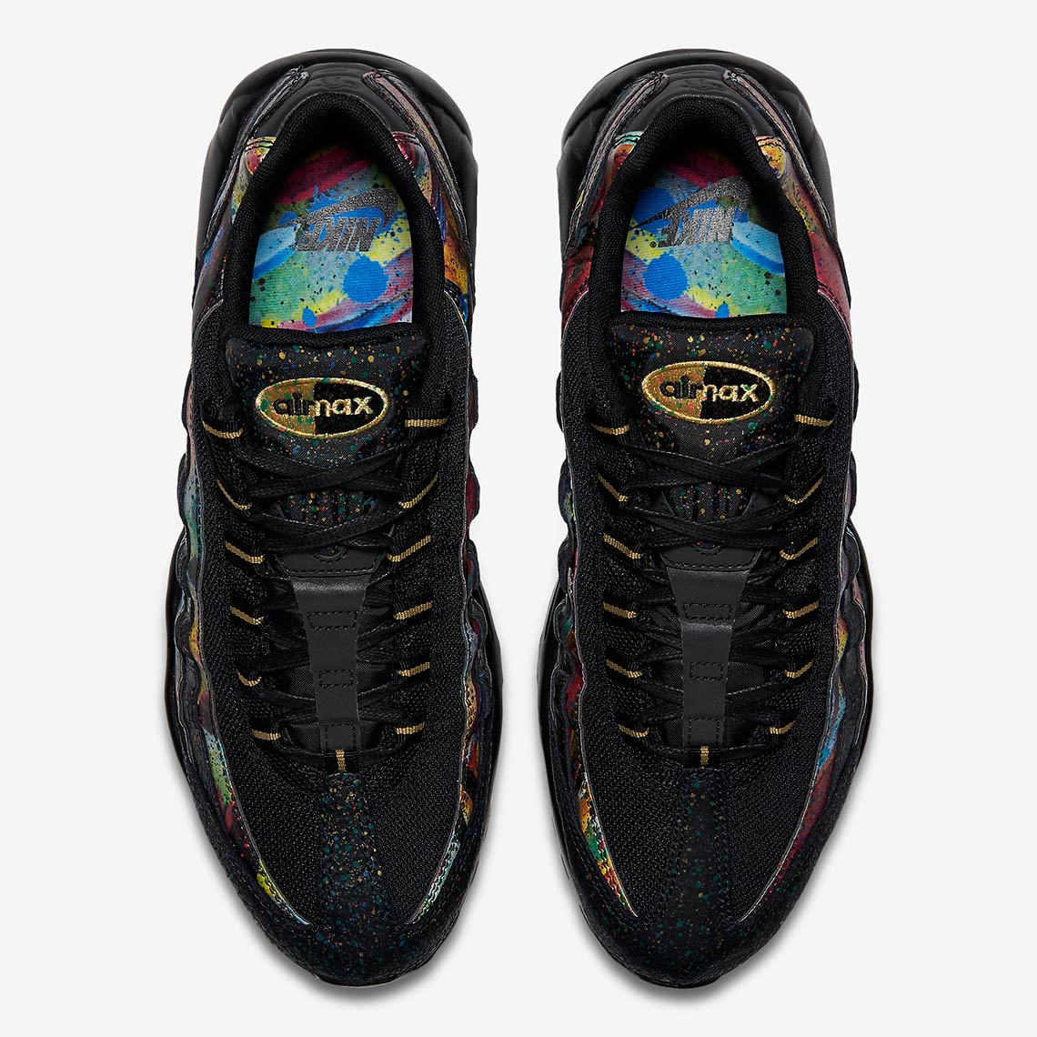 c66e5bfcd30e7c Color  Black Metallic Gold Cobalt Blaze Style Code  AT6142-001. Where to  Buy  Nike Air Max 95. Foot LockerAvailable Now  FootactionAvailable Now