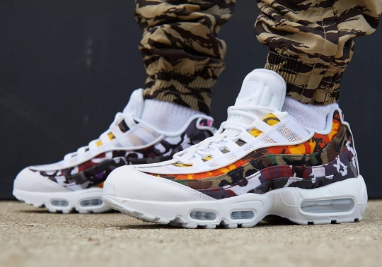 Where To Buy The Nike Air Max 95 ERDL Party Camo
