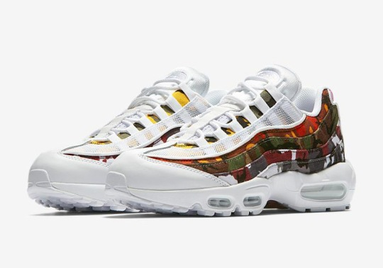"""The Nike Air Max 95 ERDL Party """"Camo"""" Is Releasing In White"""