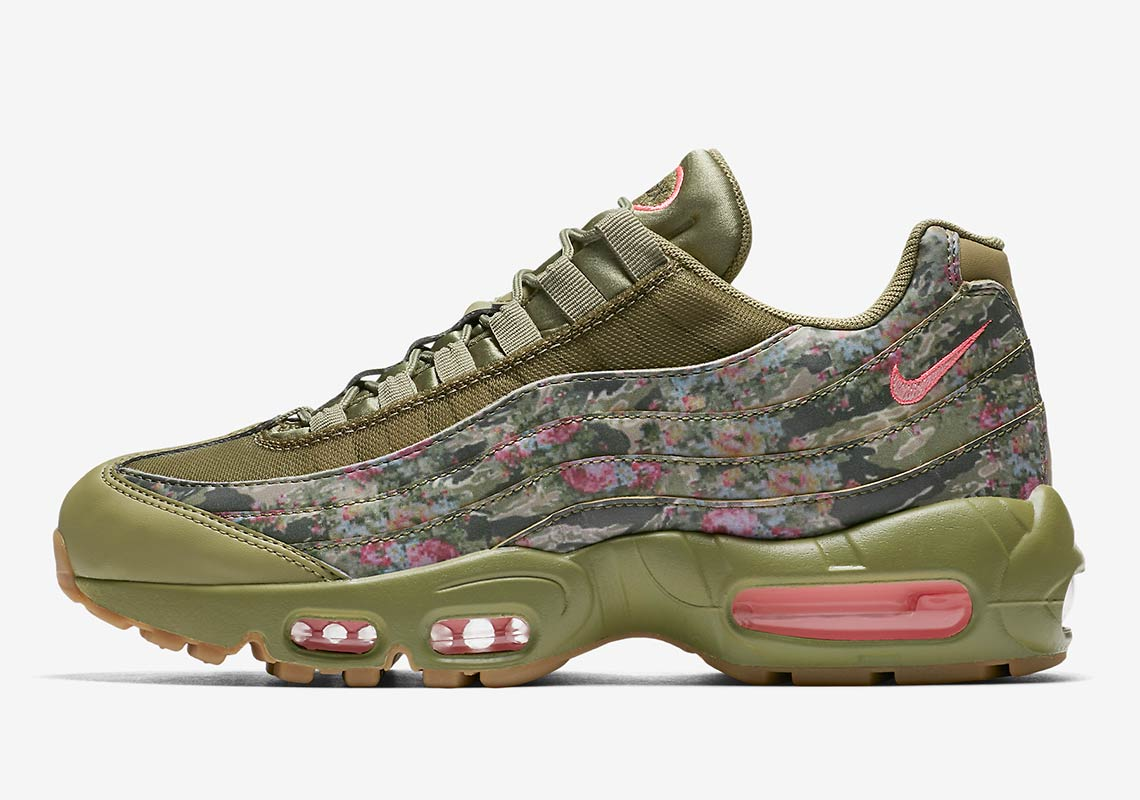 ce90cd6538 Nike Air Max 95. Release Date: July 28th, 2018. COMING SOON TO Nike $180.  Color: Neutral Olive/Arctic Punch-Gum Light Brown-Rush Maroon-Cargo  Khaki-Sunset ...