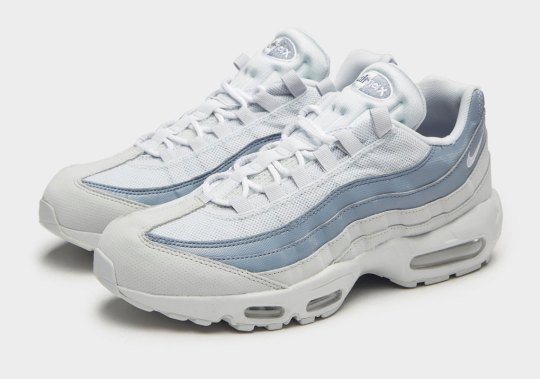 Nike Adds Light Blue And White To This Summer-Ready Air Max 95