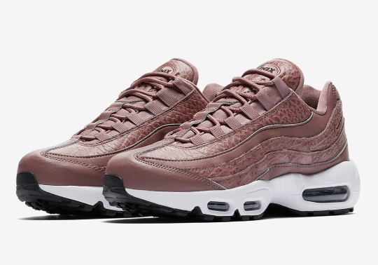 Tumbled Leather Galore On This Nike Air Max 95 For Women