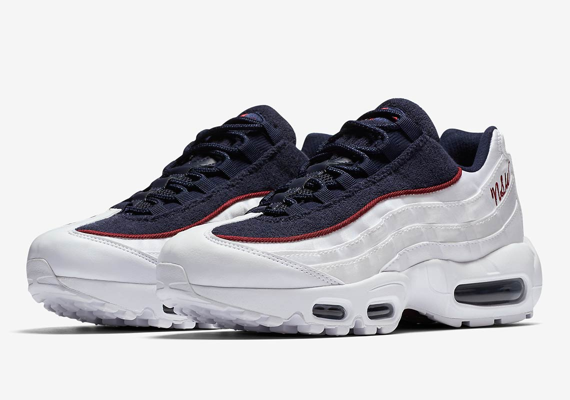 Nike Air Max 95 Womens Satin + Terry Cloth Available Now ... 964532e48