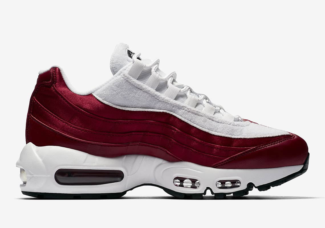 Nike Air Max 95 Womens Satin + Terry Cloth Available Now ... 0e42ec902