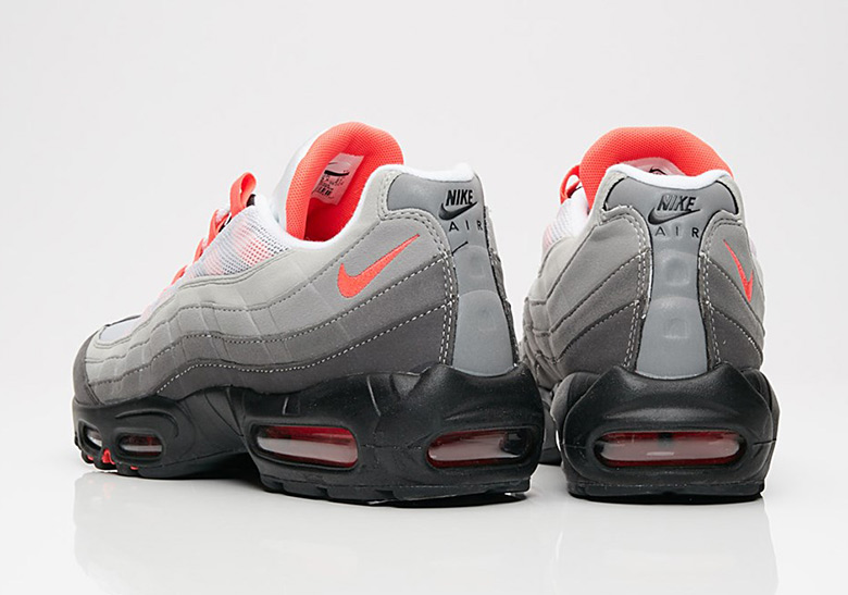timeless design a8d5d 66d45 Nike Air Max 95 Solar Red Where To Buy | SneakerNews.com
