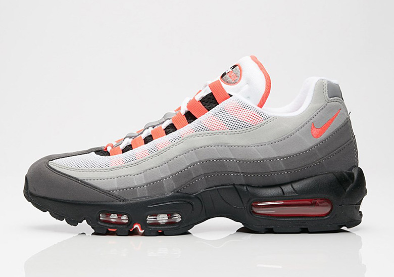 brand new 78a72 aea89 Nike Air Max 95 Solar Red Where To Buy  SneakerNews.com