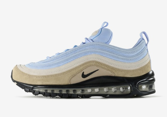 """Nike Air Max 97 """"Desert And Sky"""" Arrives In Stores"""